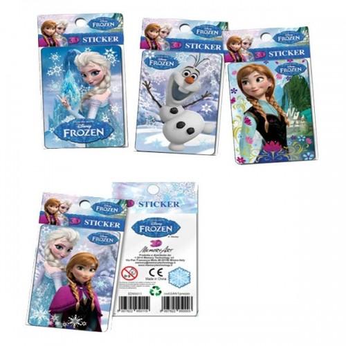 3D nalepke Ledeno kraljestvo Frozen 156