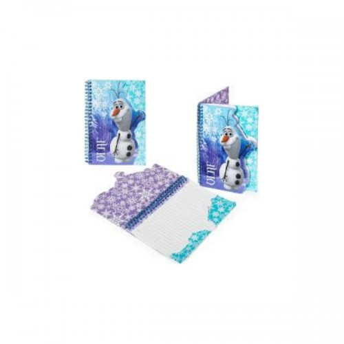 Zvezek A5 Olaf Ledeno kraljestvo Frozen 159