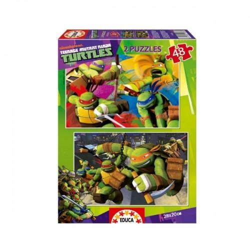 0177_Sestavljanja 2x48 - Ninja želve Ninja Turtles