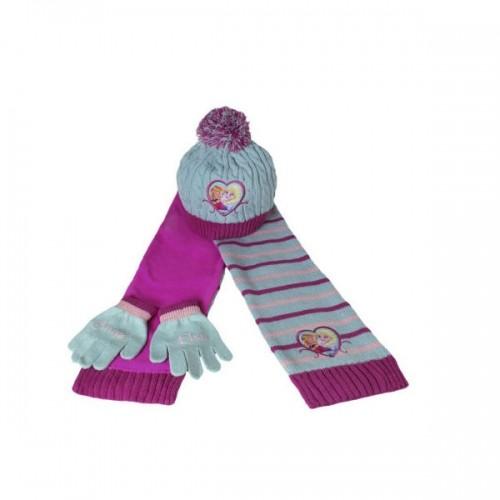 0192_Zimski komplet kape sala in rokavic - Ledeno kraljestvo Frozen