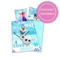 0234_Posteljnina Olaf - Ledeno kraljestvo (Frozen)_uspesnica