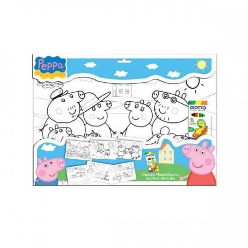 0242_Set s pobarvankami-Pujsa Pepa Peppa Pig