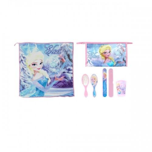 0247_Kozmetična torbica z dodatki - Ledeno kraljestvo Frozen