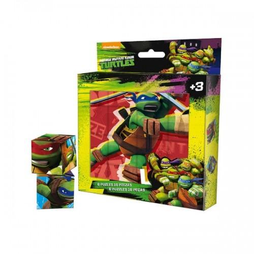 0251_Sestavljanka v kockah - Ninja želve Ninja Turtles