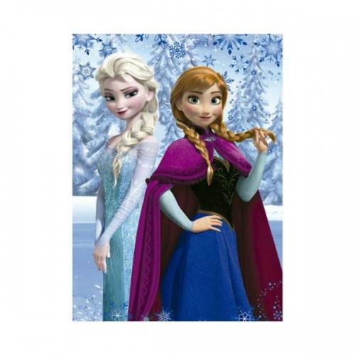 0263_Odeja iz flisa - Ledeno kraljestvo Frozen