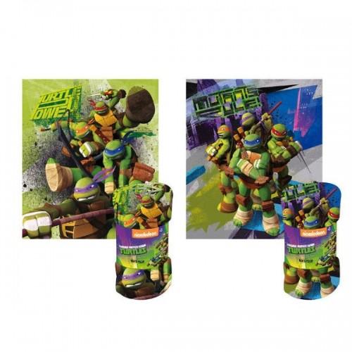 0265_Odeja iz flisa - Ninja želve (Ninja Turtles)
