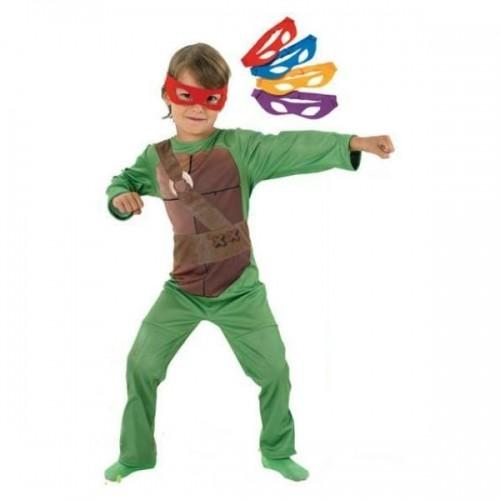 0284_Kostum Ninja želve s štirimi maskami Ninja turtles