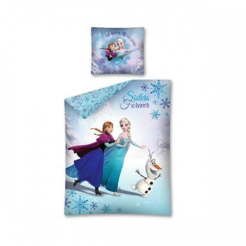 0290_Posteljnina Ana Elsa Olaf drsanje - Ledeno kraljestvo Frozen