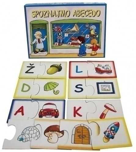 Spoznajmo abecedo (družabna igra)