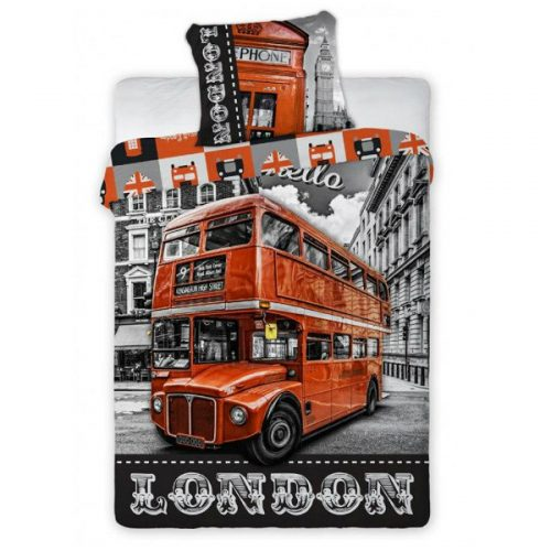 Posteljnina London Bus p