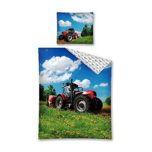 Posteljnina Traktor