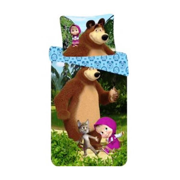 Posteljnina Maša in medved