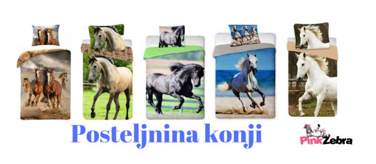 Posteljnina-konji-splet