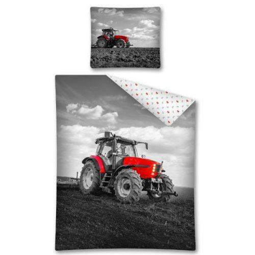 Traktor rdeč