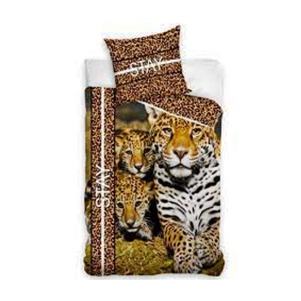 Posteljnina Leopard z mladiči